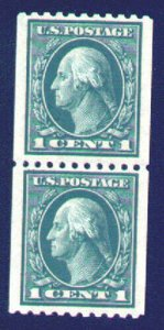 MALACK 441 SUPERB JUMBO OG NH, Pair, Huge stamps g1598