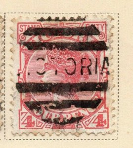 Victoria 1886-87 Early Issue Fine Used 4d. 326779