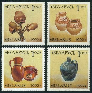 Belarus 41-44,MNH.Michel 17-20. Ceramics,1992.