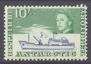 British Antarctic Territory BAT Scott 14 - SG14, 1963 Elizabeth II 10/- MNH**