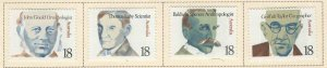 AUSTRALIA Scott 651-656 MH* stamp set