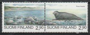 1995 Finland - Sc 960c-960d - MNH VF - 1 pr - Endangered species