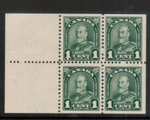 Canada #163a Mint Fine - Very Fine Never Hinged Booklet Pane