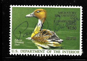 RW53 1986 Federal Duck Stamp Premium Used No Faults -EBAY Low Store-Offer?