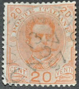 DYNAMITE Stamps: Italy Scott #69 - USED