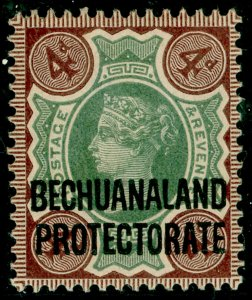 BECHUANALAND SG64, 4d green & purple-brown, M MINT. Cat £27.