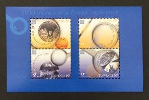 Slovenia 2006 #605a S/S, Europa 50th Anniversary, MNH.