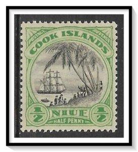 Niue #60 Captain Cook Landing MH