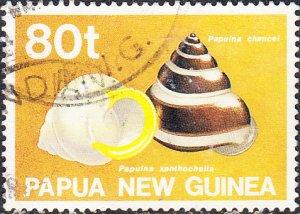 Papua New Guinea  #755  Used