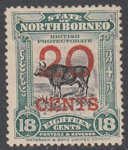 North Borneo 148 MNG (see Details) CV $7.00