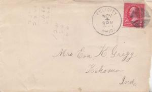 United States Ohio Felicity 1899 segmented cork  Small tear at top and bit ro...