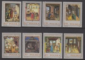 Poland 1697-1704 Paintings mnh