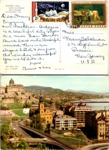 Hungary, Picture Postcards, Art, Space