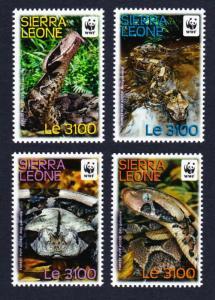 Sierra Leone WWF Forest Puff Adder 4v