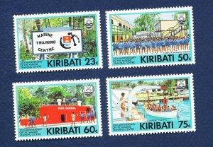 KIRIBATI - Scott 591-594 - FVF MNH - Marine Training Center - 1992