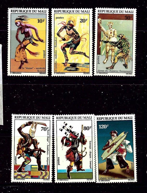 Mali 175-80 MHR 1972 Dancers