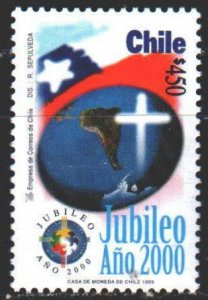 Chile. 1999. 1918. Millennium 2000 years. MNH.