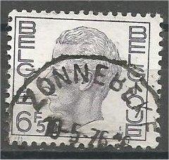 BELGIUM, 1974, used 6.50fr, King Baudouin, Scott 758