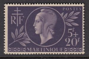 Martinique B11 Red Cross mnh