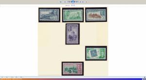 Barbados Stamps Partial Set Scott 216-8, 222, 224-5, Mint Hinged - Free U.S. ...