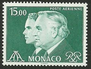 MONACO SG1523 1981 15f GREEN MNH