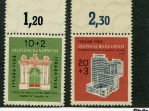 Germany #B332-33  Mint VF NH