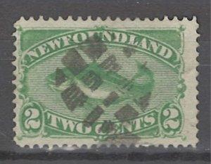 COLLECTION LOT # 3218 NEWFOUNDLAND #46 1880 CV=$14