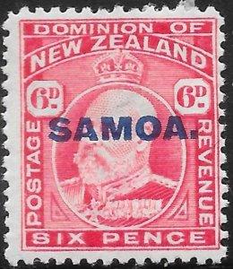 Samoa 118 Unused/Hinged - Edward VII