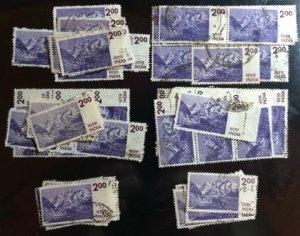India Scott#683 F/VF Used 56 stamps Cat. $33.60
