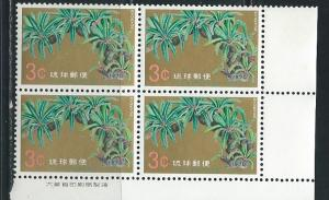 Ryukyu Islands 205 1970 National Treasures single BLOCK o...