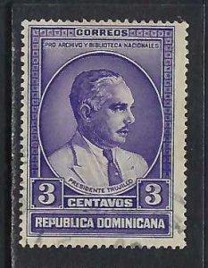 DOMINICAN REPUBLIC 313 VFU O801-1