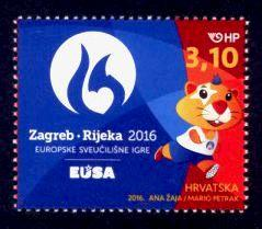 Croatia Sc# 999 MNH 2016 European University Games