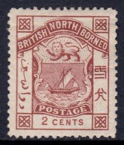 North Borneo - Scott #27 - MH - Crease, pencil on reverse - SCV $2.25