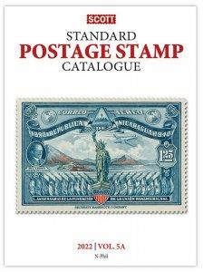 Scott Stamp Catalog 2022 Volume 5A & 5B COUNTRIES N-SAMOA  Reference Book