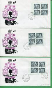 4 Canada First Day Covers 1971 Winnipeg Manitoba Cancel Cole Cover Cachet - A011