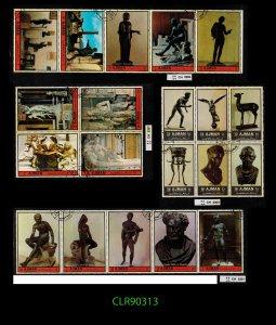 Topicals CLEARANCE: Sheets Strips Blks Sculpture See Description  ~ CLR90313