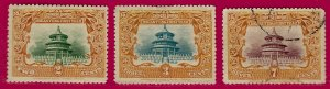 Republic of China SC#131-133 Mint & Used F-VF SCV$31.50....Bid a Bargain!