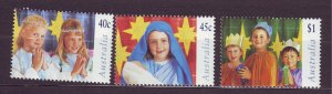 J23759 JLstamps 1997 australia set mnh #1626-8 christmas