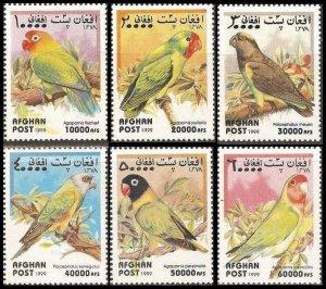 1999 Afghanistan 1923-1928 Parrots 5,00 €