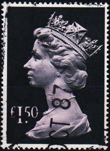 Great Britain. 1977 £1.50 S.G.1026e Fine Used