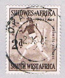 South West Africa 250 Used White Lady 1954 (BP26323)