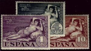Spain #397-399 Mint F-VF....Grab a Popular set of Stamps!