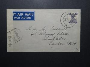 India 1944 Merchant Navy Cover to UK / Censored  - Z12382