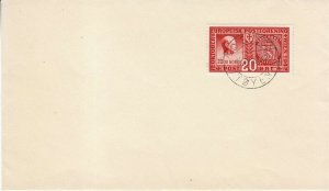 Cover Germany Sc 0253 1942 WWII Europe Postal Congress Vienna War Germany Used