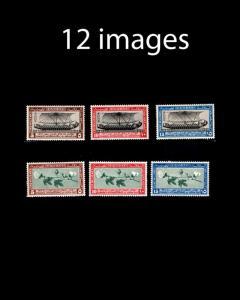 VINTAGE: EGYPT 1920-50'S ASST OGNH, LH ,USD LSCOTT # ASST $175 LOT #1900MUF