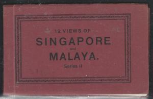 MALAYA SINGAPORE (P2006B) PPC SERIES 12 BOOKLET 12 VIEWS OF SINGAPORE AND MALAYA