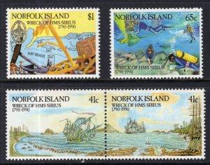Norfolk Island 471-474 MNH VF