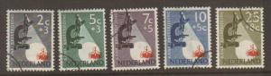 Netherlands #B251-5 Used