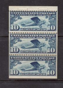 USA #C10a NH Mint Booklet Pane