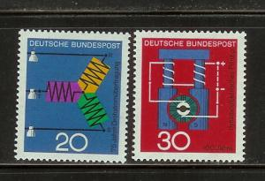 Germany 965-966 Set MNH Science and Technology (C)